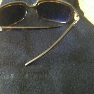 Dolce&Gabbana 60 in.Wool Scarf with Sunglasses D&G